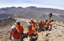 Ascenso al pico del Teide en 2010