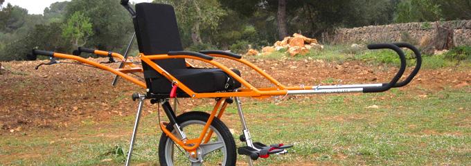silla de ruedas para montana