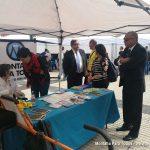 Representantes del CD Tenerife y del Cabildo tienerfeño