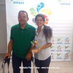 Alberto y Noemi, representantes del Club Deportivo de Montaña Para Todos