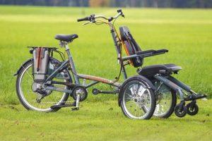 Bicicleta marca Van Raam, modelo Opair