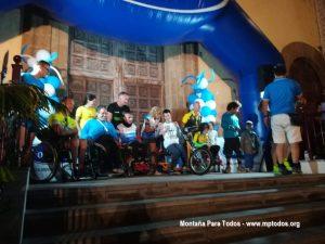 8KM La Orotava - Podium deportistas con discapacidad