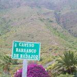 Señal del Barranco de Badajoz
