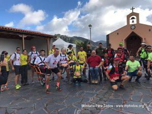 Equipos corredores del I Campeonato Internacional de Carreras por Montaña con Joëlette