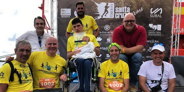 I Campeonato Internacional de Carreras por Montaña con Joëlette - Equipo MPT