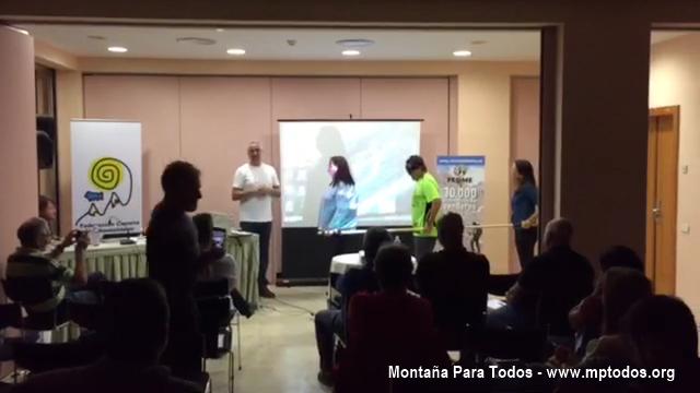 XXVI Jornadas estatales de senderismo - Barra direccional, la ONCE