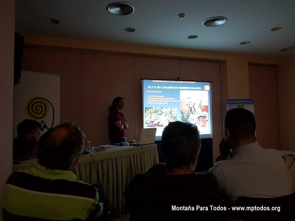XXVI Jornadas estatales de senderismo - PN de la Caldera de Taburiente