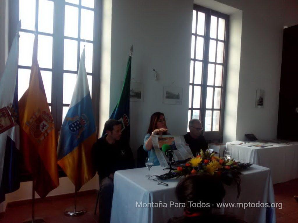 Presentación folleto-guías Arico - Buceo
