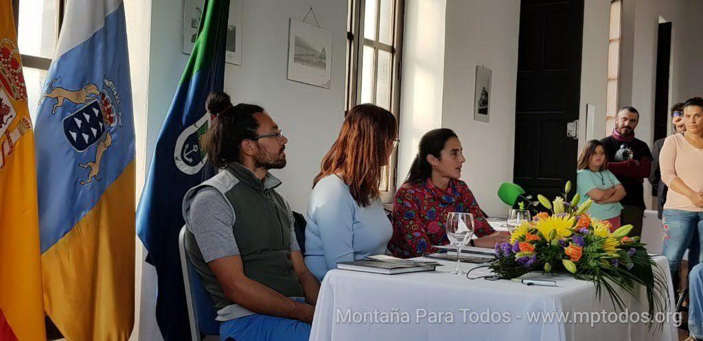 Presentación folleto-guías Arico - Escalada