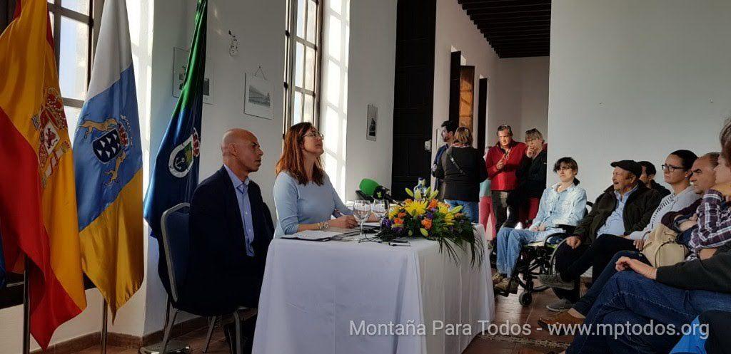 Presentación folleto-guías Arico - Libro La Piedra Natural de Canarias