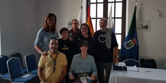 Presentación folleto-guías Arico