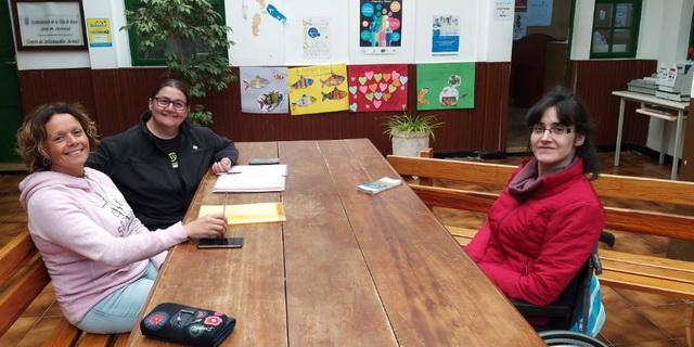 Reunión con AEDL de Arico