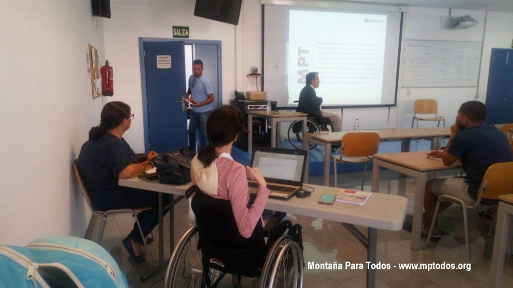 Juan Antonio habla de los tipos de discapacidad