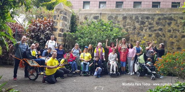 MPT visita el Jardín Botánico del Pto. de la Cruz