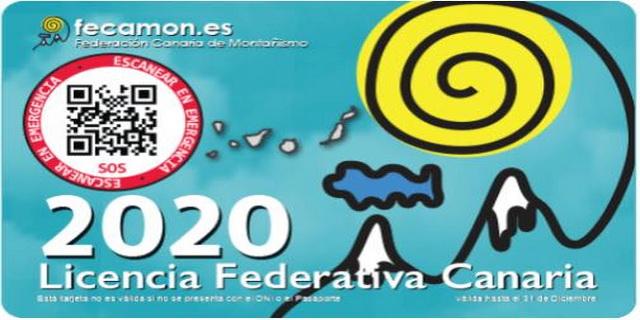 Tarjeta Licencia Federativa 2020