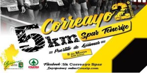 Cartel II 5 K Correayo Spar Tenerife
