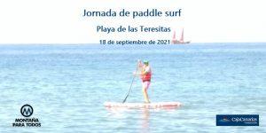 Cartel Jornada de paddle surf