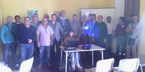Reunión con concejales de la comarca Chasna-Isora