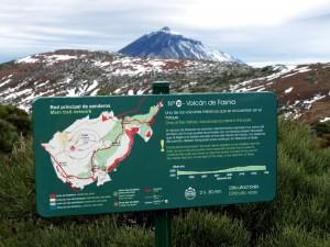 Sendero nº 20 del Parque Nacional del Teide