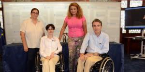 Reunion en el Cabildo con Cristina Valido