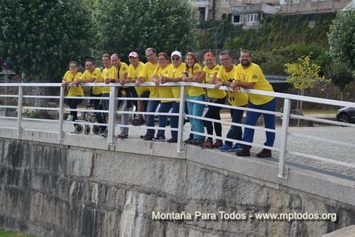 Componentes de MPT en el Camino Portugués