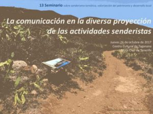 XIII Seminario sobre senderismo temático en Taganana @ Centro Cultural de Taganana | Santa Cruz de Tenerife | Canarias | España
