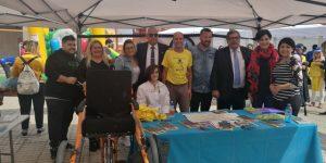 Representantes del CD Tenerife, Cabildo tinerfeño y Asociación Casa La Palma